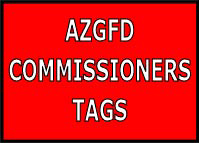COMMISSIONERS TAGS